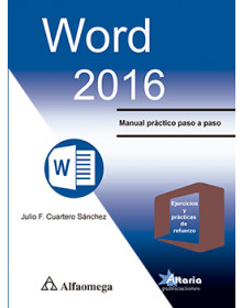 Word 2016 - Manual práctico paso a paso