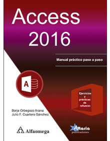 Access 2016 - Manual práctico paso a paso