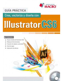 Crea, vectoriza y diseña con Illustrator CS6